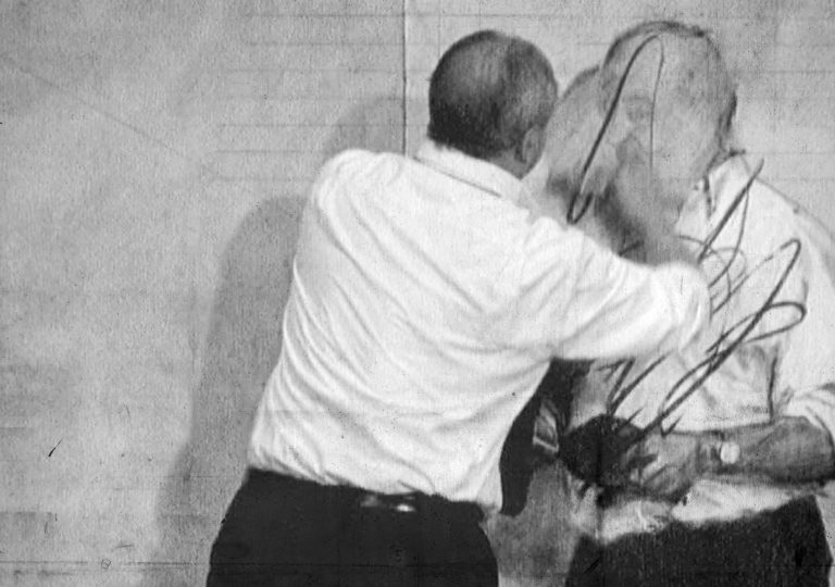 William Kentridge. Video still from Invisible Mending, 2003. 7 Fragments