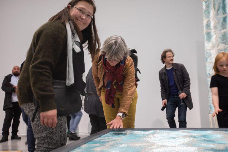 Senioromvisning i Sparebanken Sør Kunstnerpris 2020