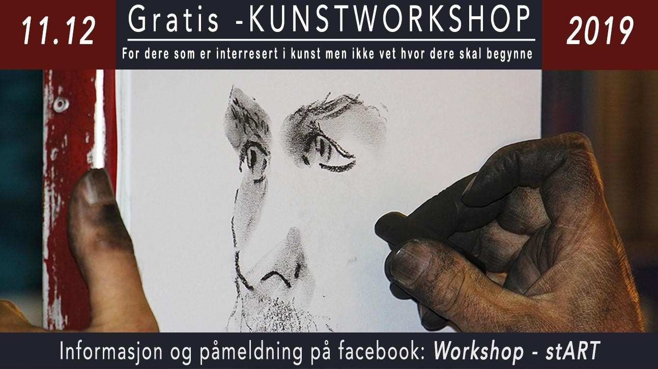 stART: kunstworkshop for unge voksne sørlandets kunstmuseum