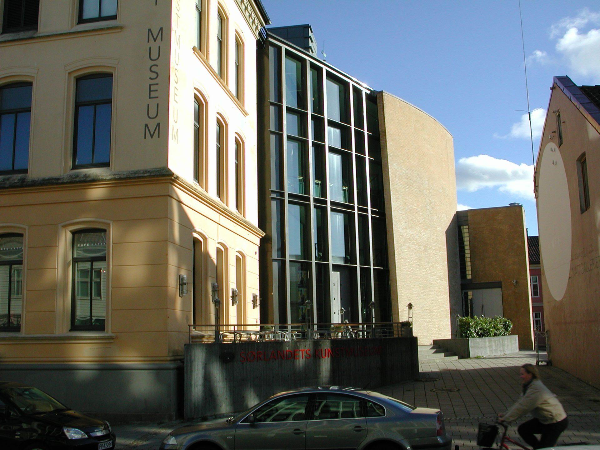 Sørlandets Kunstmuseum Fasade i Kristiansand