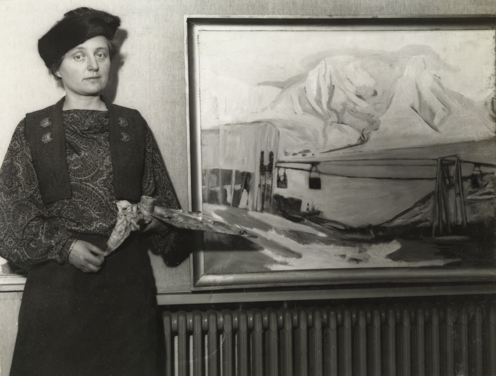 Else Christie Kielland, ca. 1935-40. Foto: fotograf ukjent/Oslo Museum
