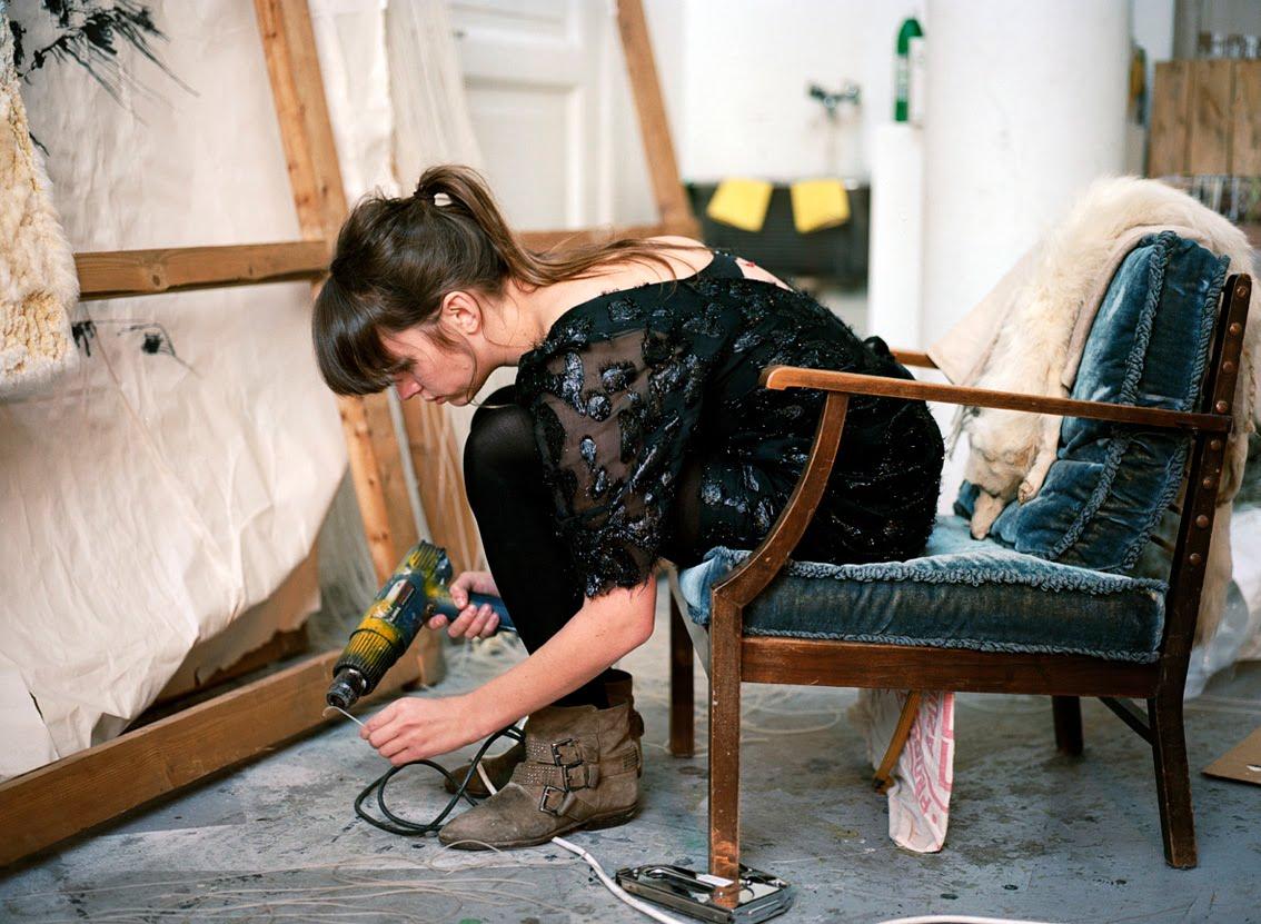 Atelierbesøk hos Ann-Cathrin November Høibo