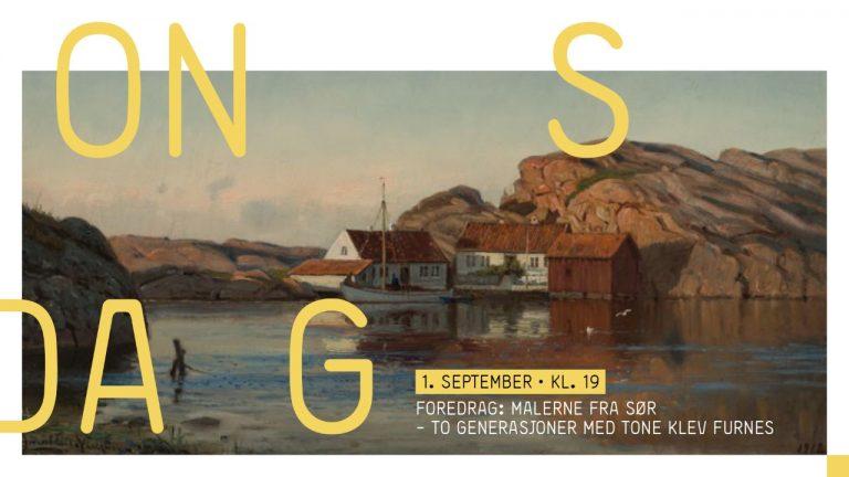 Foredrag: Malere fra sør – to generasjoner