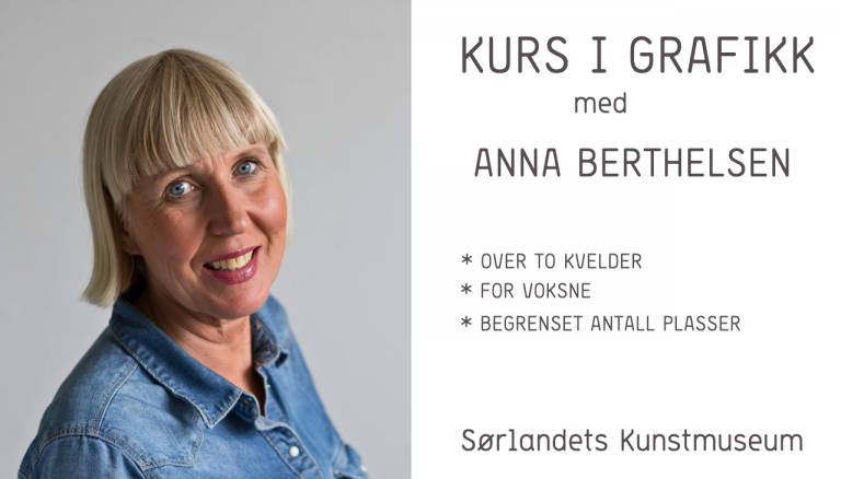 Workshop i grafikk med Anna Berthelsen