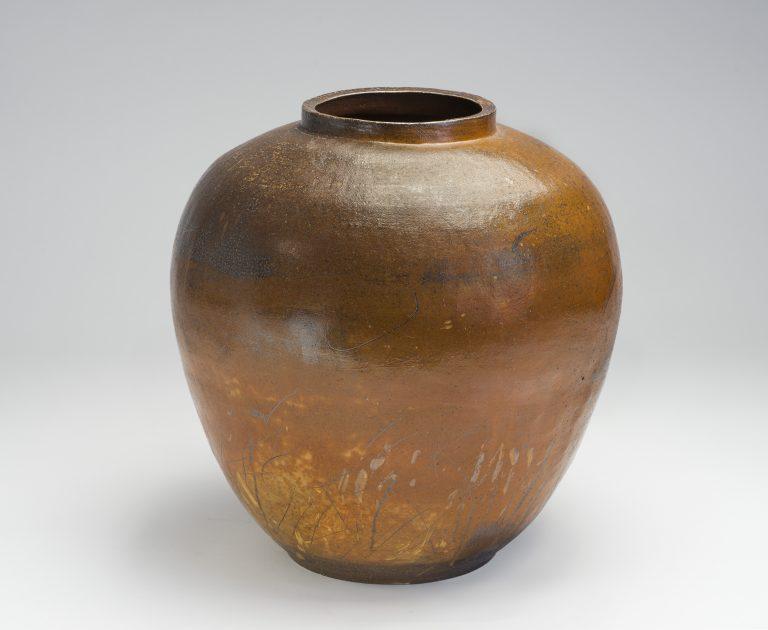 Sørlandets Kunstmuseum. Kunstsilo. John Skognes, Krukke / Pot, 2016, salt glazed stoneware