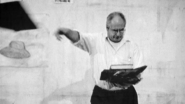 Stillbilde fra Videoen Auto-Didact av William Kentridge