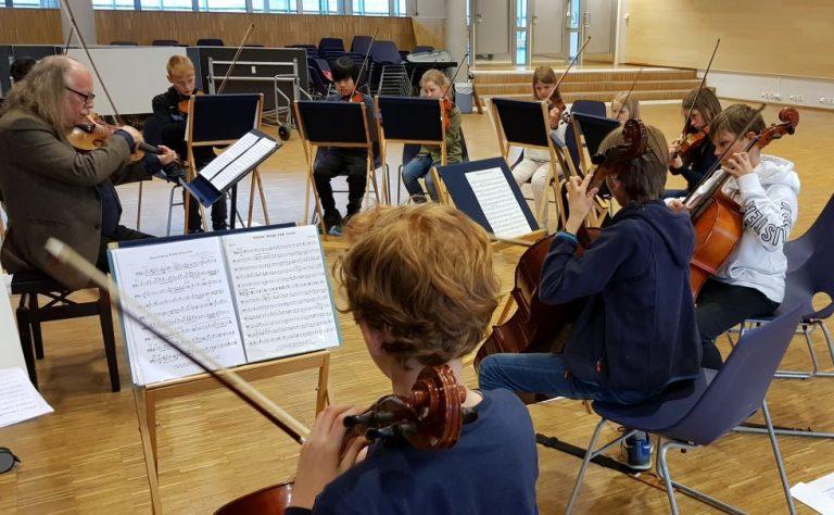 Tirsdagskonsert: Kjelsås skole strykeorkester
