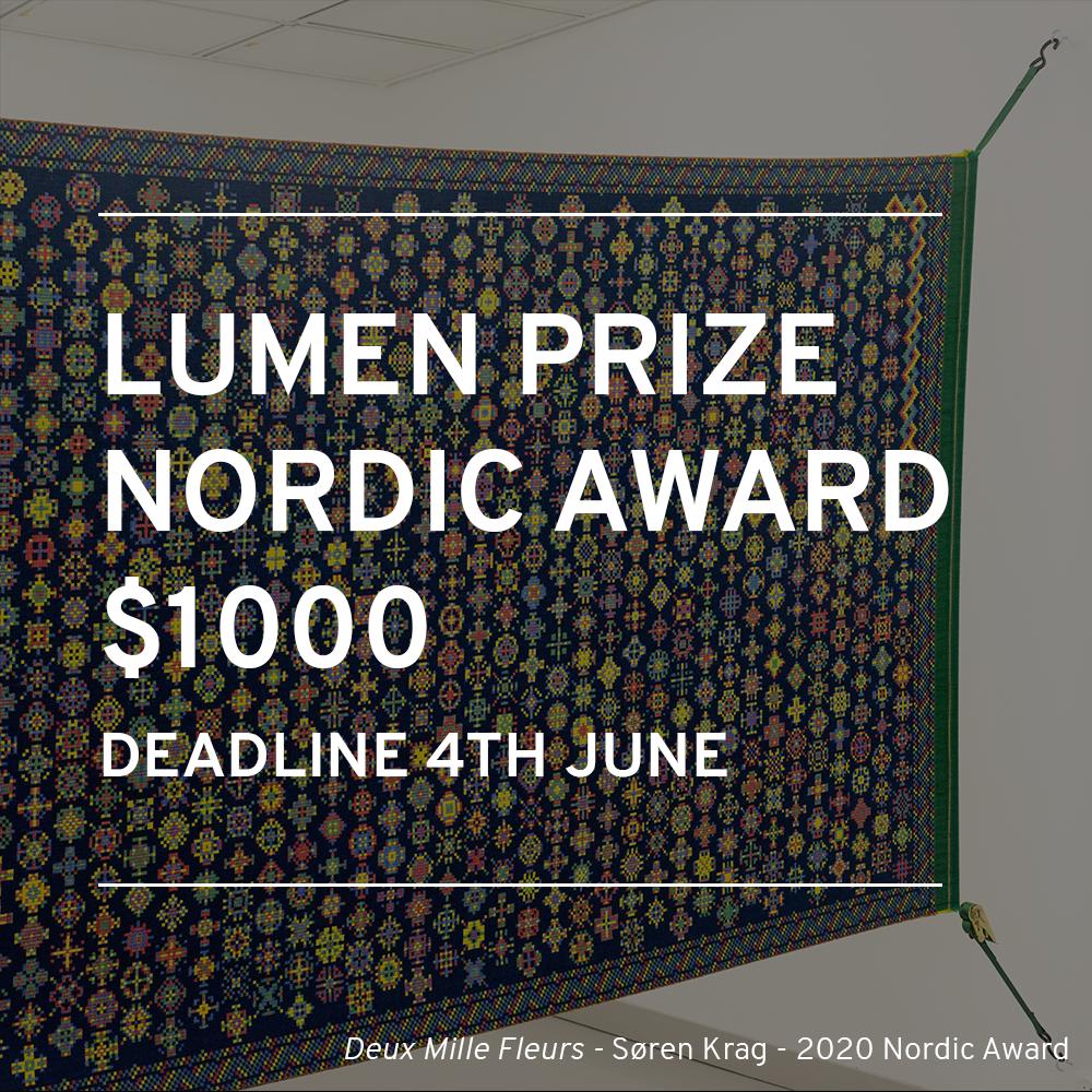 Lumen Prize 2021 Nordic Award Sørlandets Kunstmuseum