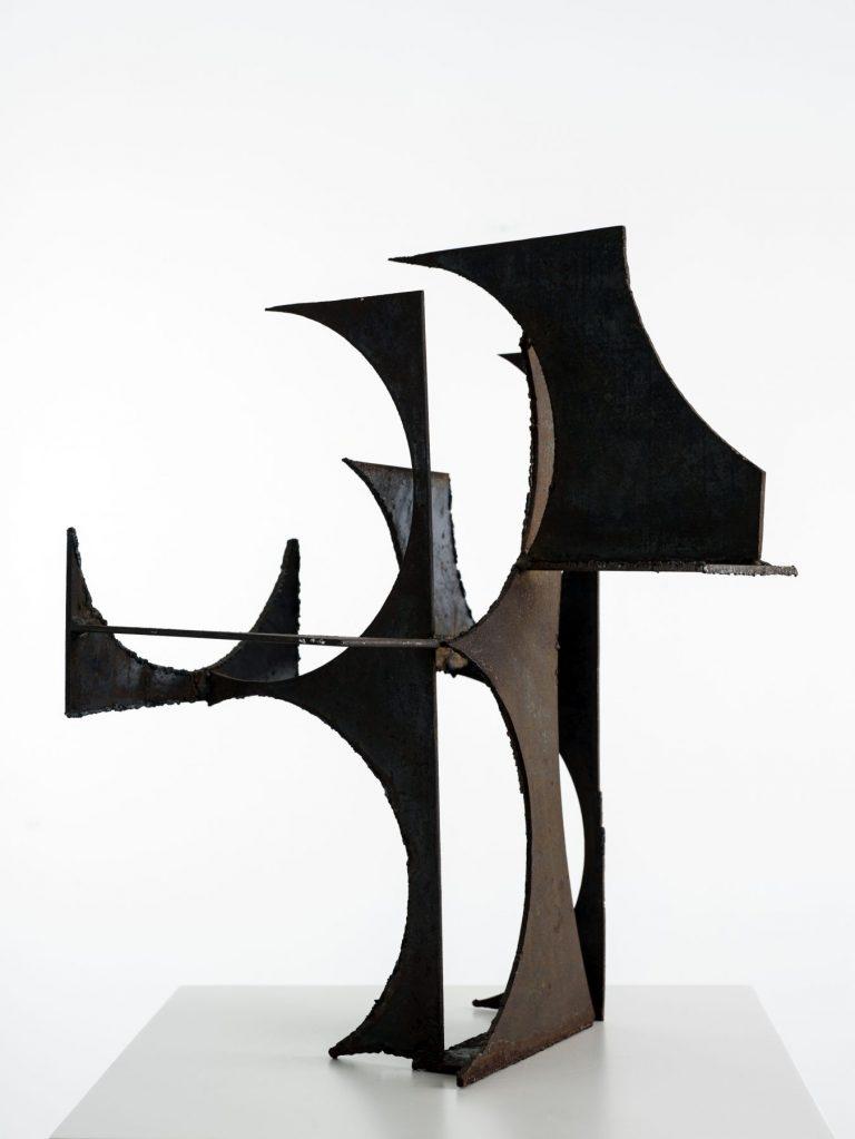 Tangen-samlingen. Sørlandets Kunstmuseum. Kunstsilo. Lars-Gunnar Nordström, Aktiviteetti, 1950-59, iron