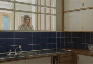 Verket tilhører Tangen-samlingen og er en del av utstillingen 11 nordiske. Kunstnere fra Tangen-samlingen og kan oppleves på SKMU Sørlandets Kunstmuseum i perioden juni - november 2019. Elina Brotherus. Arriere-Cuisine, 2015