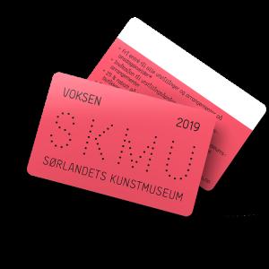 Kunstmuseets Medlemskort for Voksen i 2019