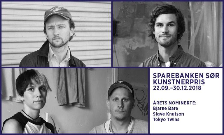 Utstillingsåpning: Sparebanken Sør Kunstnerpris 2018