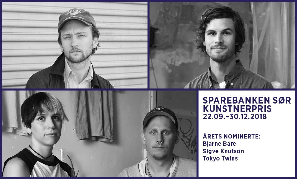Senioromvisning i utstillingen Sparebanken Sør Kunstnerpris