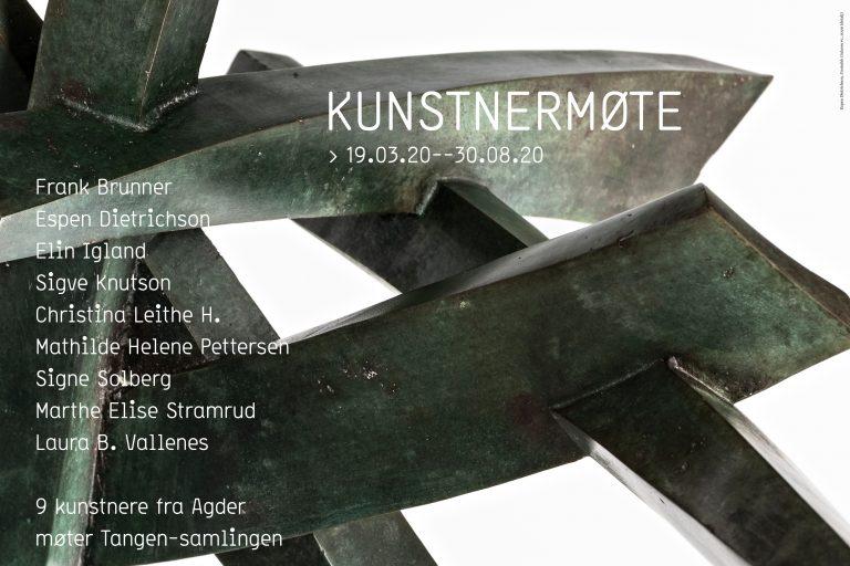 Kunstnermøte. Kunstnere fra Agder møter Tangen-samlingen
