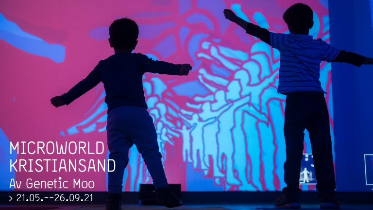 Prisvinnende kunstutstilling for barn åpner i mai!