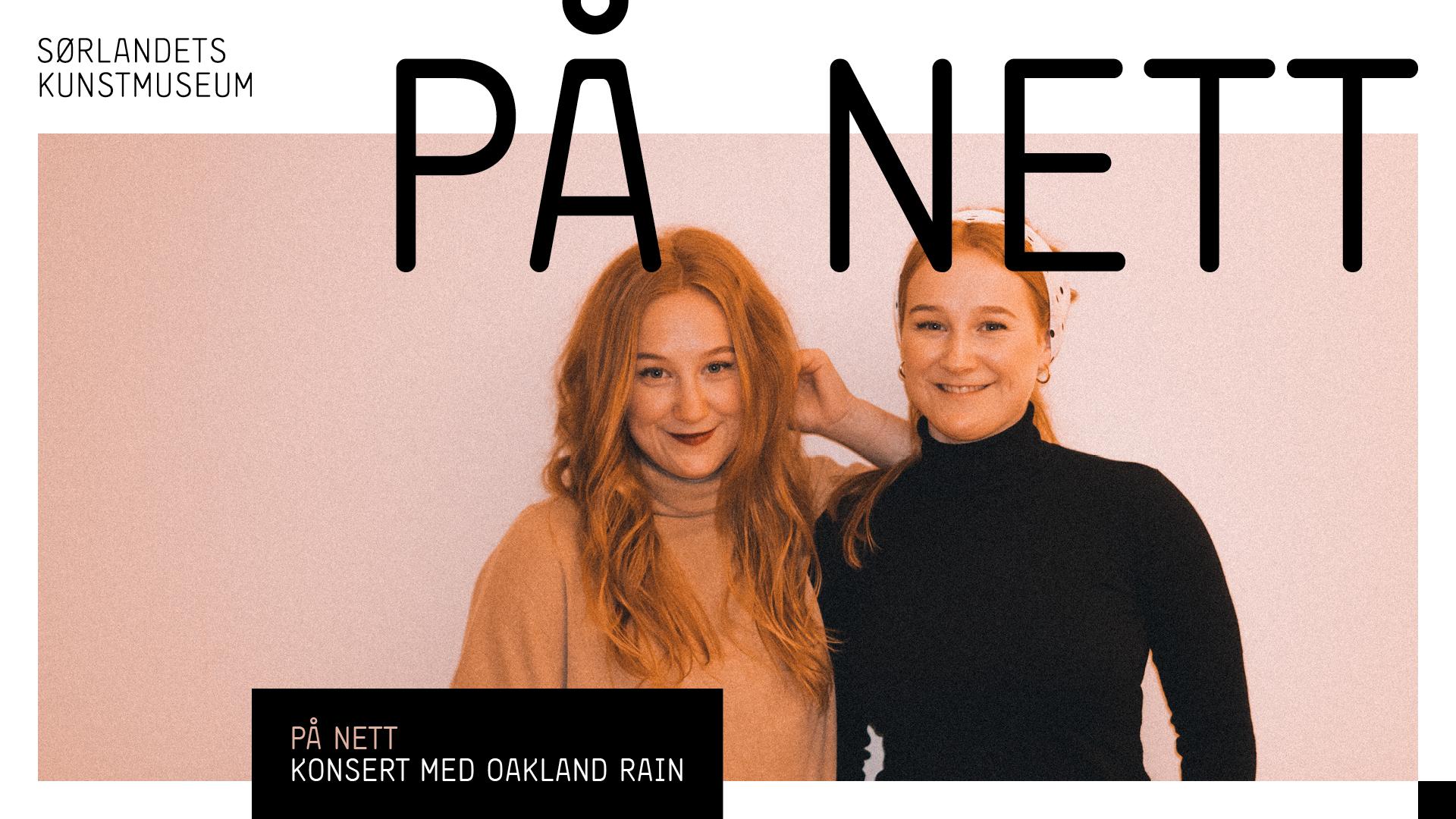 digital konsert oakland rain sørlandets kunstmuseum kristiansand