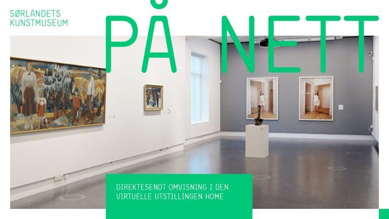 Live omvisning i den virtuelle utstillingen av HOME