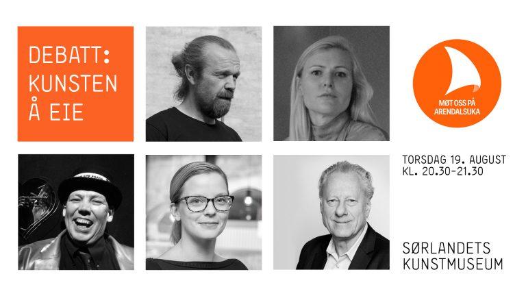 Debatt: Kunsten å eie (Arendalsuka 2021)