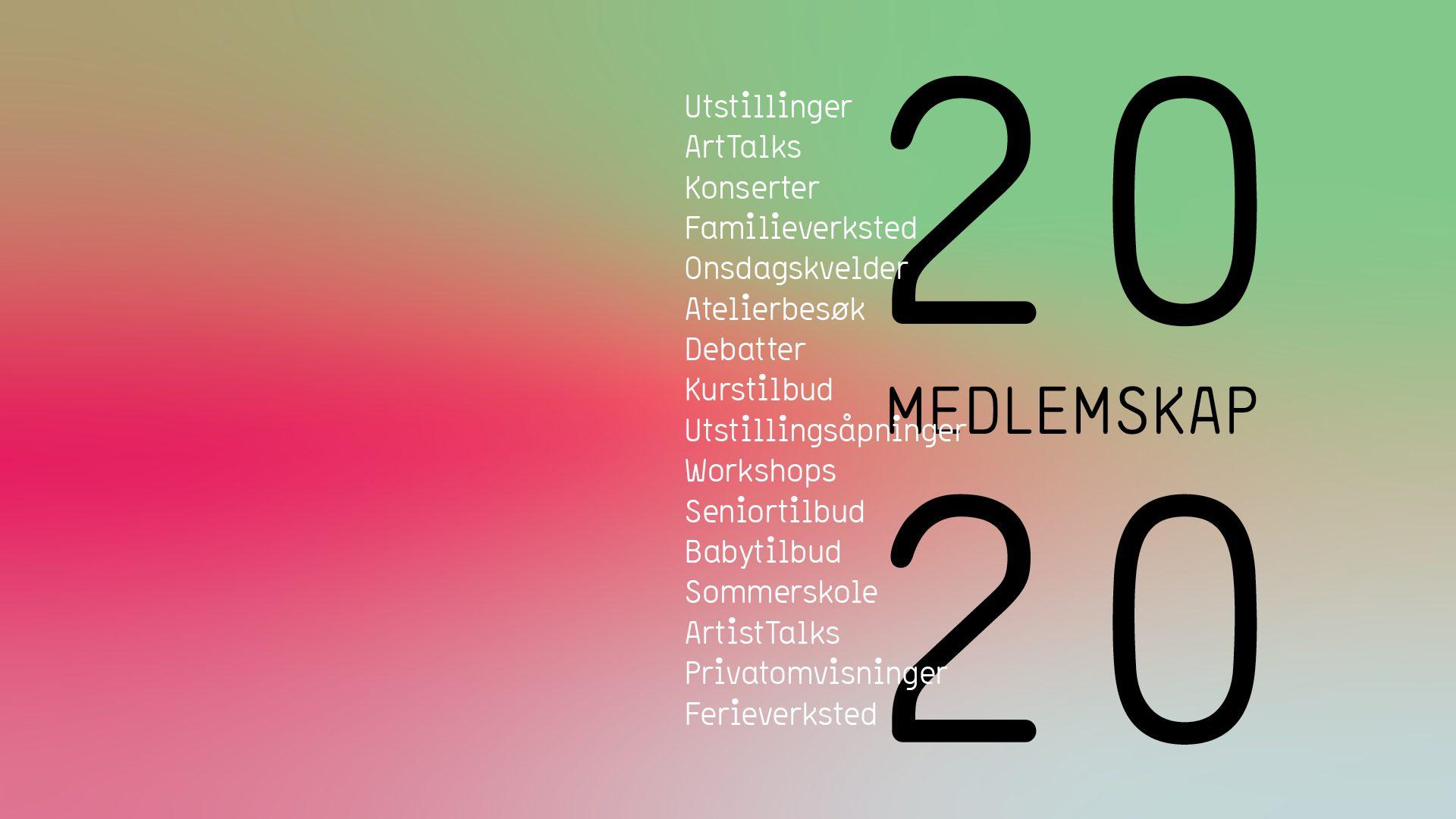 Bli medlem 2020