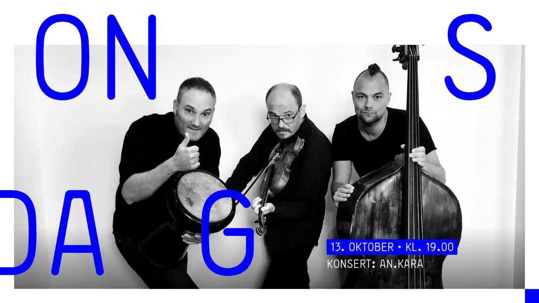 Konsert med folkemusikkgruppen Ankara på Sørlandets Kunstmuseum