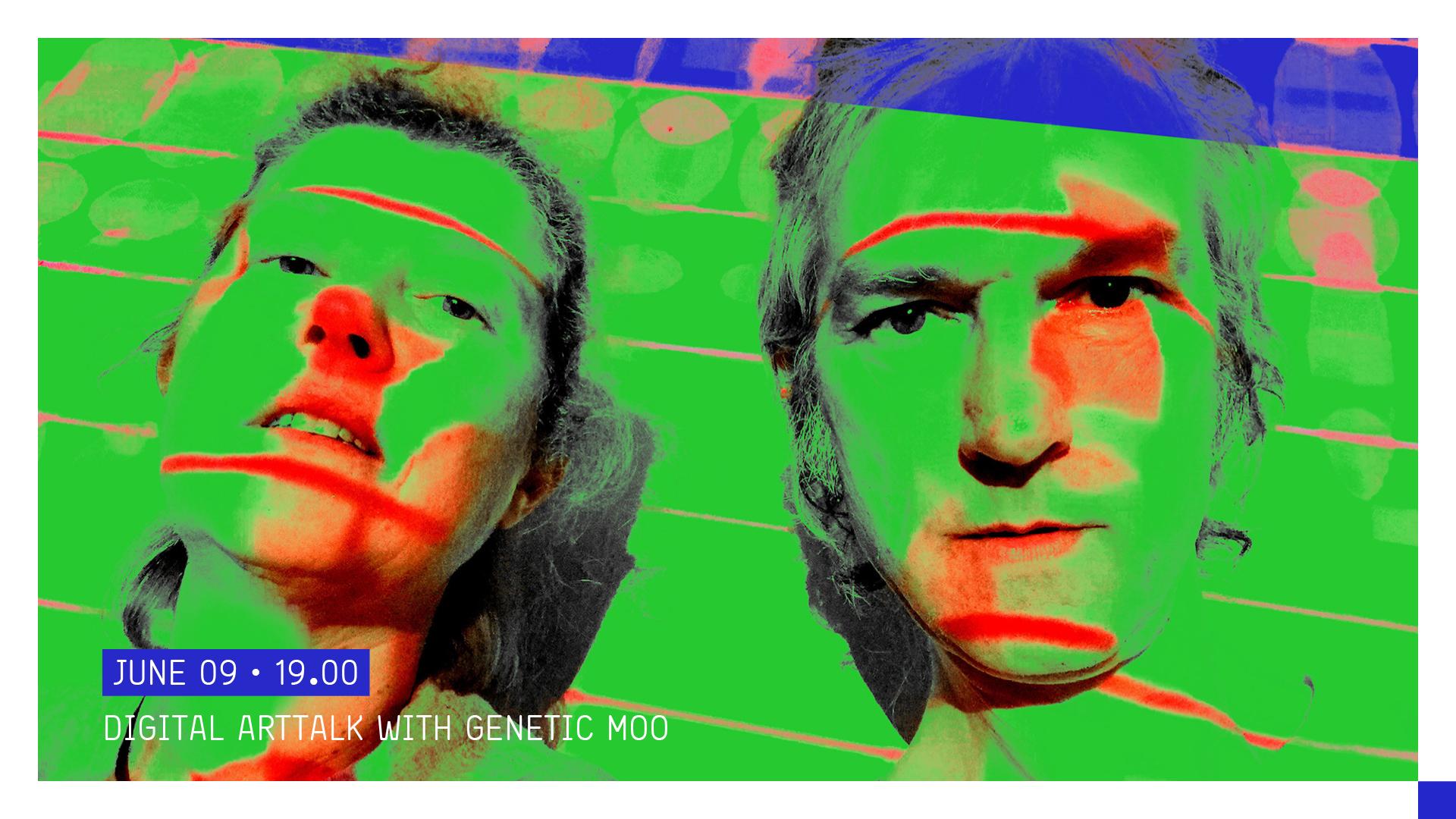 Bli med på gratis, direktesendt Artist Talk med Genetic Moo