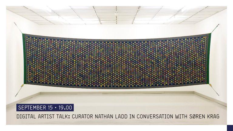 Digital Artist Talk på Facebook: Curator Nathan Ladd in conversation with Søren Krag