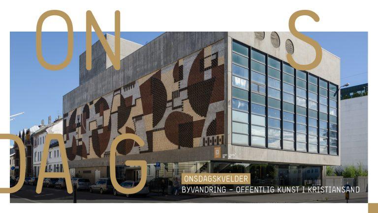 Byvandring – Offentlig kunst i Kristiansand 3. juni