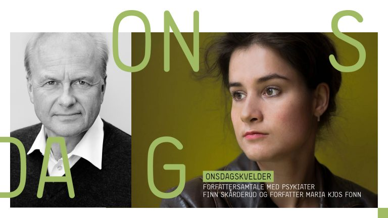 Forfattersamtale: Finn Skårderud og Maria Kjos Fonn