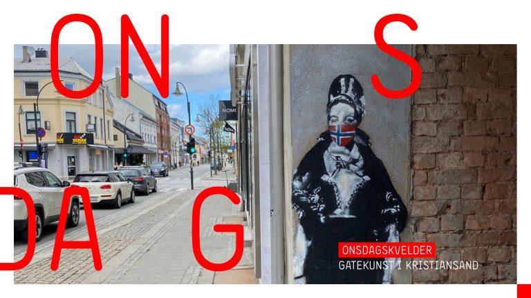 Byvandring: Gatekunst i Kristiansand