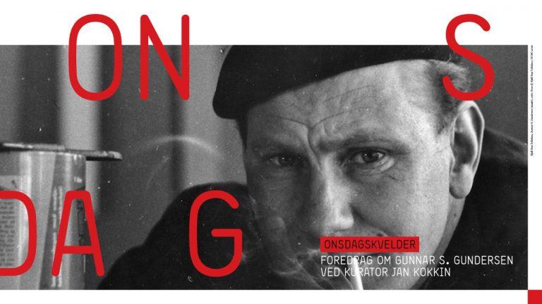 Foredrag: Kurator Jan Kokkin om kunstner Gunnar S.