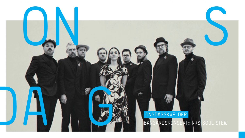 sørlandets kunstmuseum bakgårdskonsert krs soul stew kristiansand sommer 2020