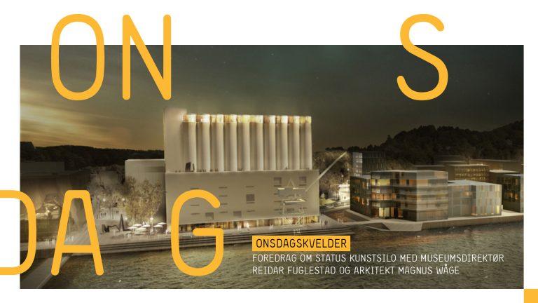 Utsolgt! Status Kunstsilo med direktør Reidar Fuglestad og arkitekt Magnus Wåge