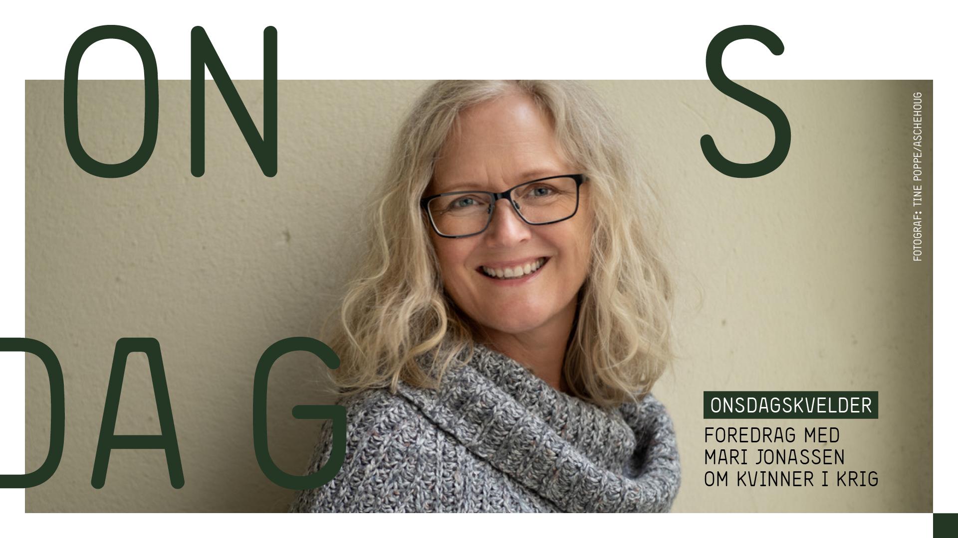 Mari Jonassen holder foredrag om norske kvinner i krig