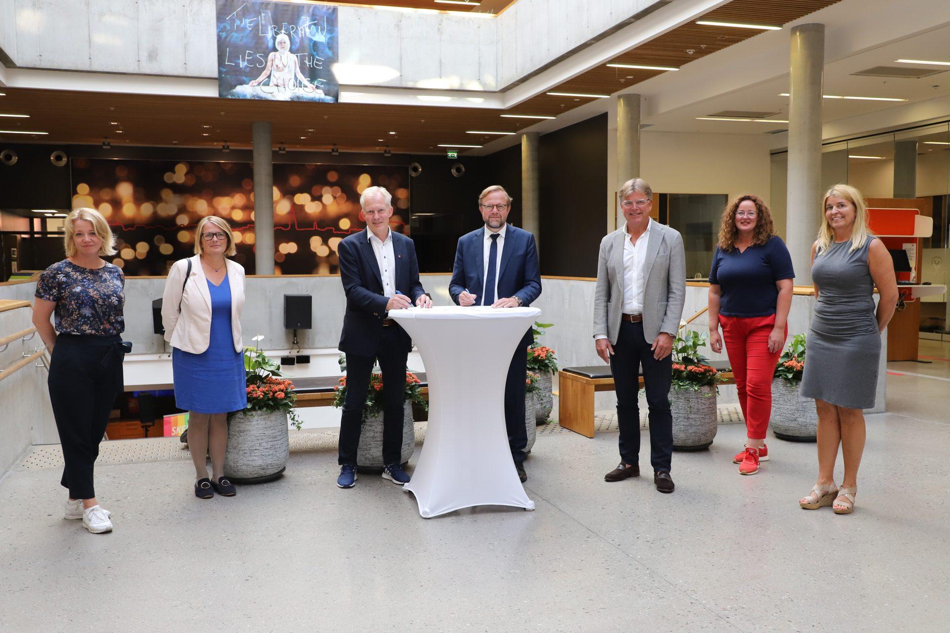 Inngår langsiktig samarbeid med Europarådet