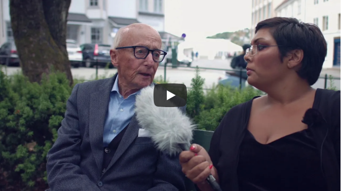 Kunsten til folket og folket til kunsten: Vi møter Kåre Willoch.