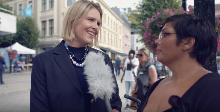 Kunsten til folket og folket til kunsten: Vi møter Sylvi Listhaug