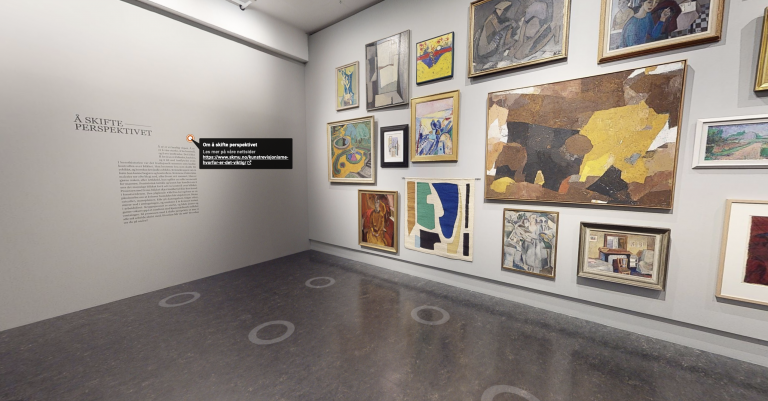 Besøk den virtuelle versjonen av Modernismens Pionerer
