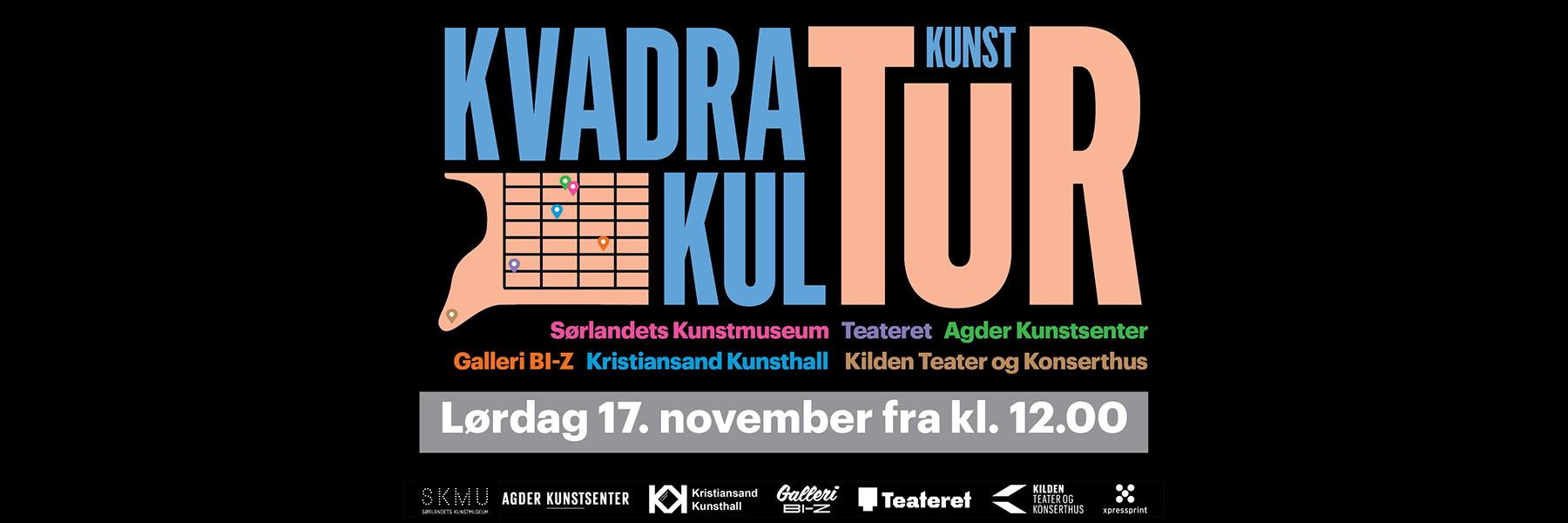 Kulturløype i Kristiansand sentrums kulturakse