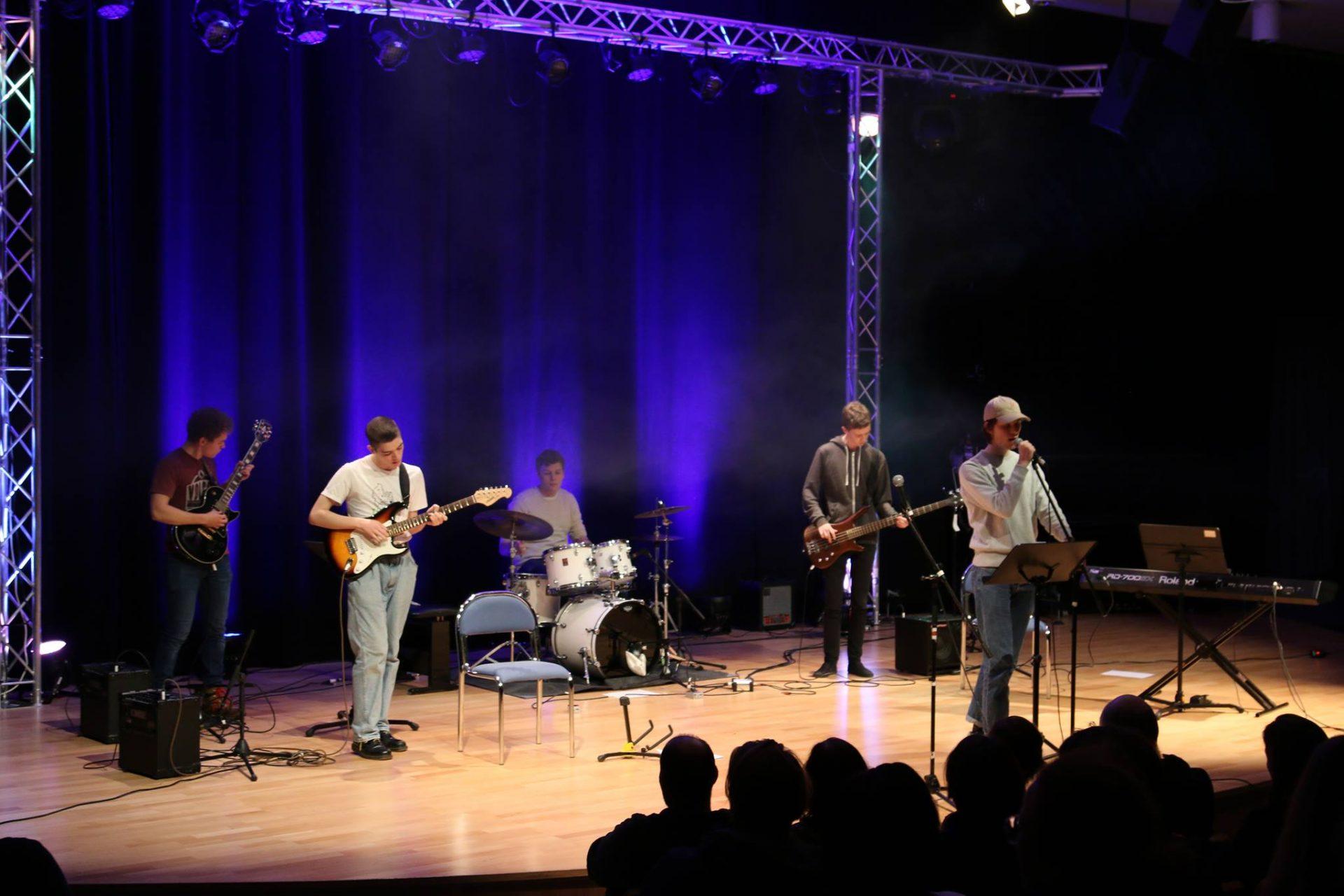 Bandkonsert med Knuden Kulturskole