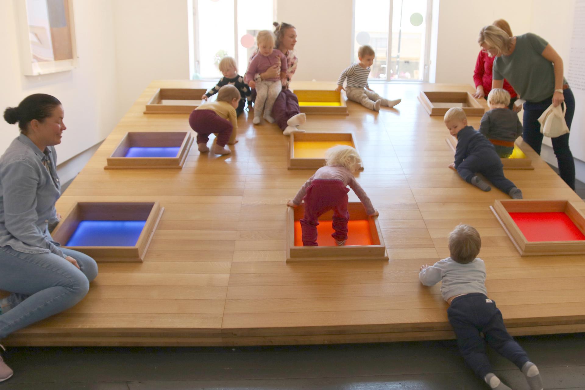 Barnas Kunstmuseum Sørlandets Kunstmuseum aktiviteter for barn og familier i Kristiansand
