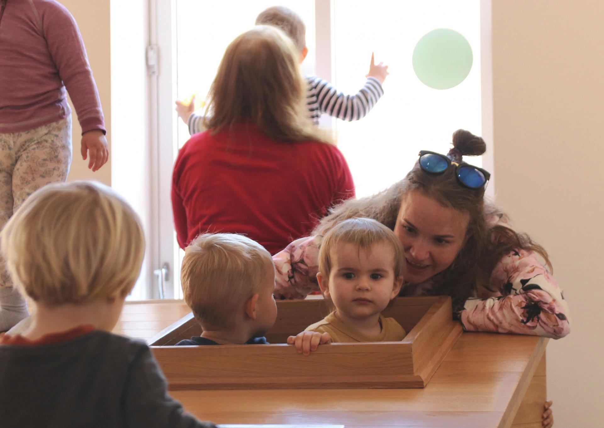 Barnas Kunstmuseum åpner igjen lørdag 25.september kl. 16