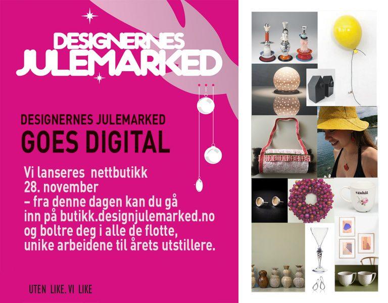 Designernes Julemarked blir nettbutikk – avlyst på museet:
