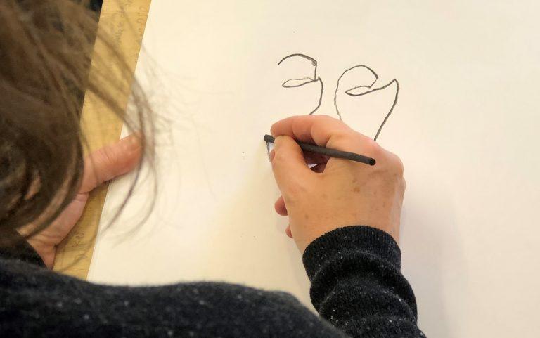 Seniortorsdag: Blindtegning