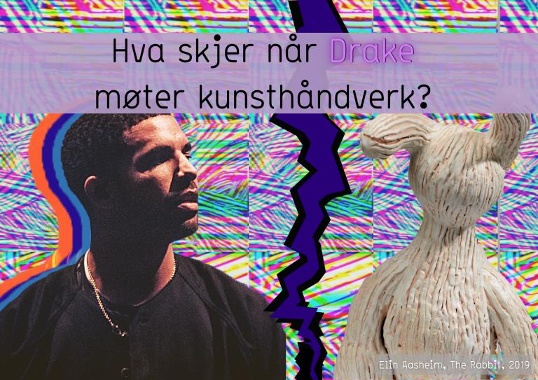 Drake møter kunsthåndverk