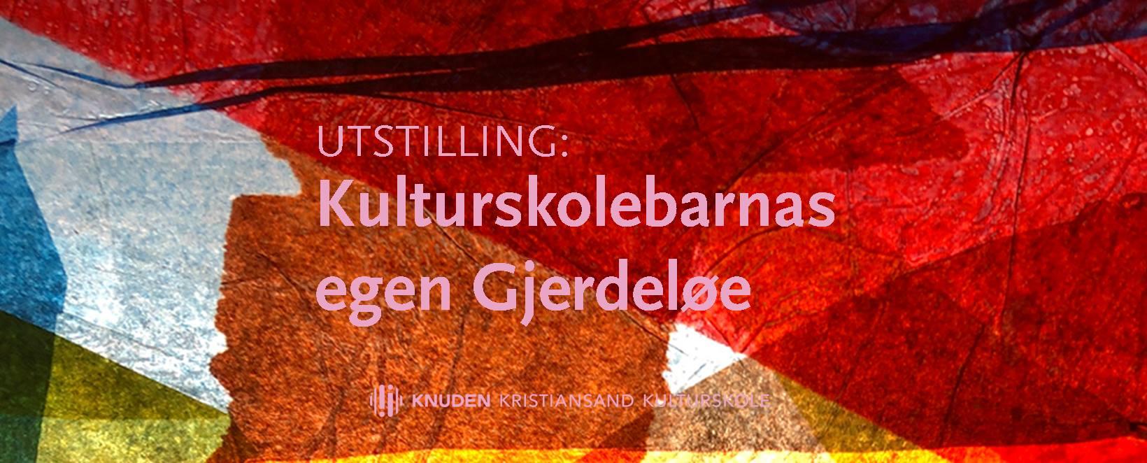 Åpning av kulturskolebarnas egen «Gjerdeløe»