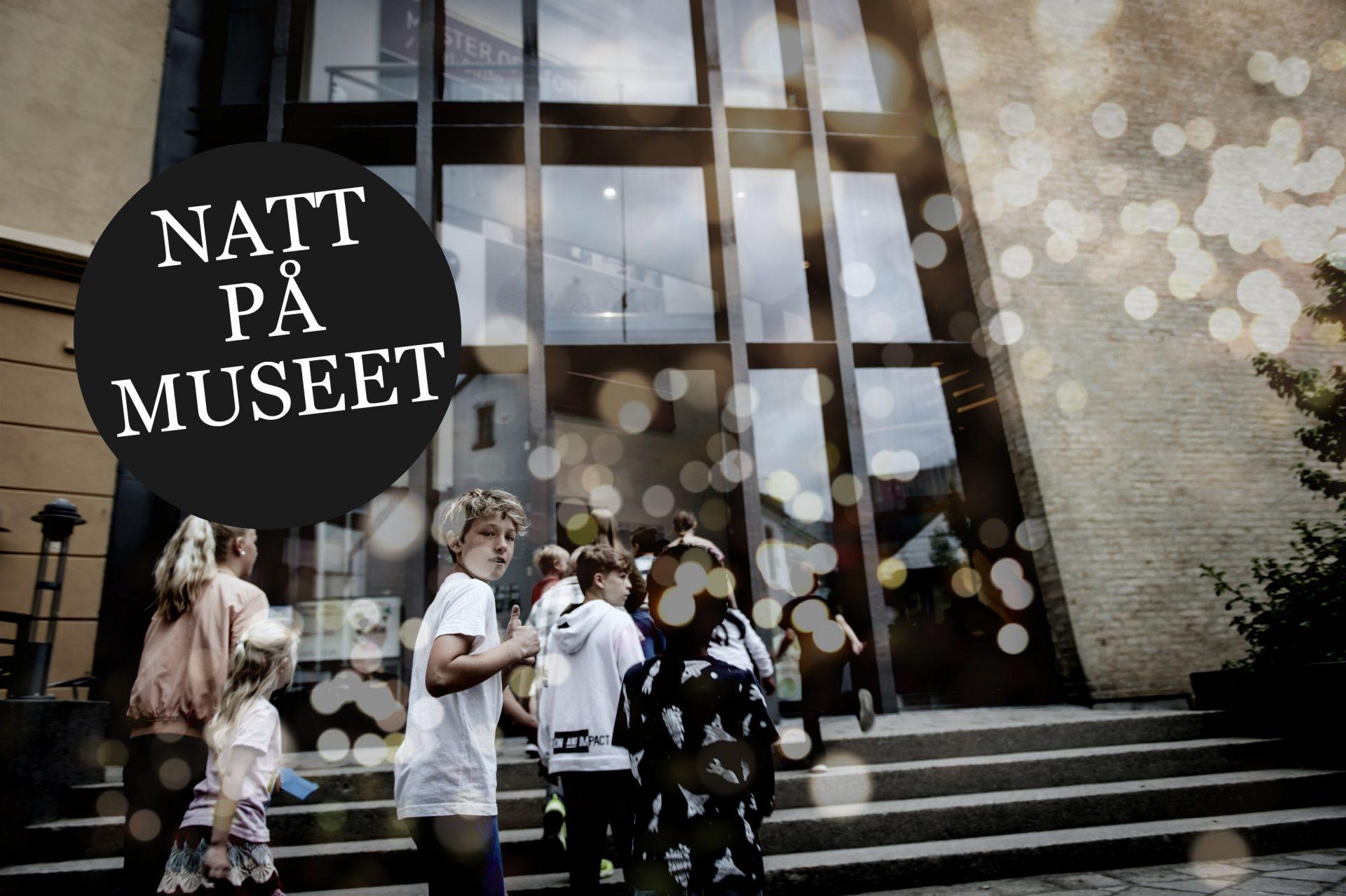 Natt på museet Knuden SKMU Barnefilmfestivalen