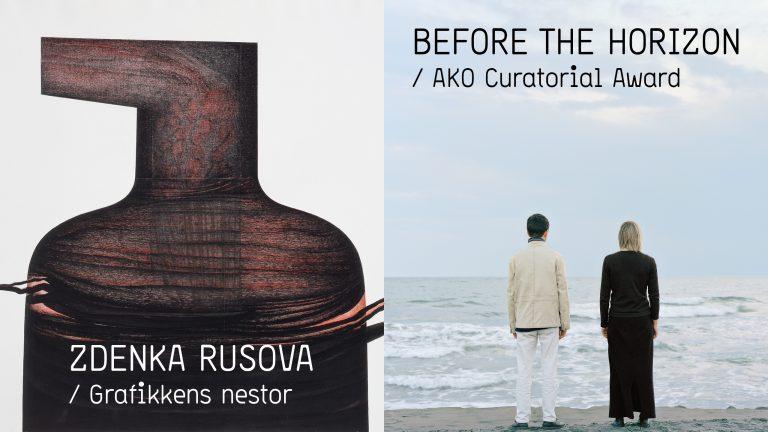 Dobbel utstillingsåpning: Zdenka Rusova og Before the Horizon