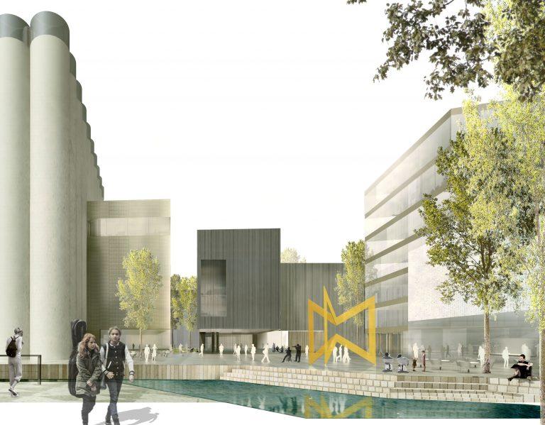 Kruse Smith AS tildeles kontrakten med Kunstsilo og ny kulturskole