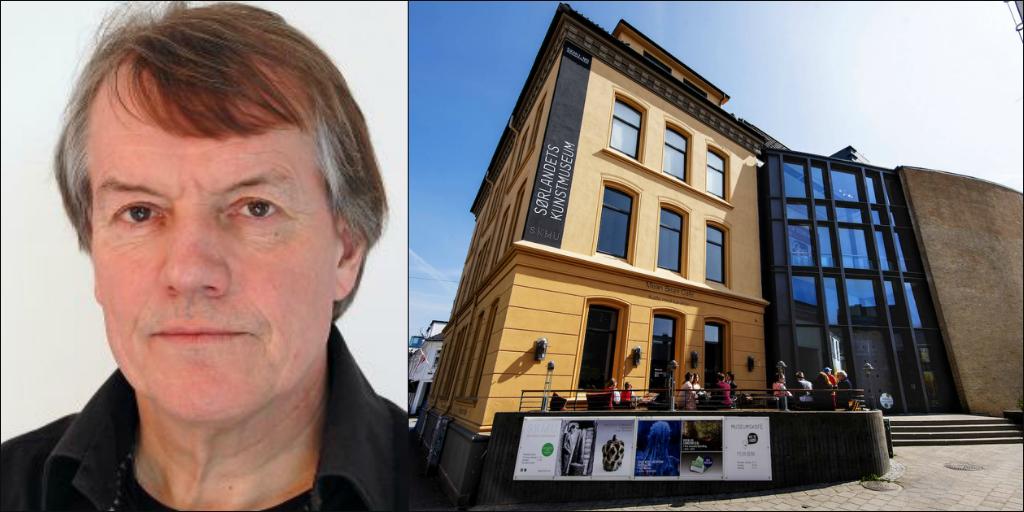 Brynjulv orsenberg holder foredrag på Sørlandets Kunstmuseum om kunsthåndverk og design - bruk og materialer. Tilbudet er en del av SKMU Senior men passer for alle med anledning på dagtid.