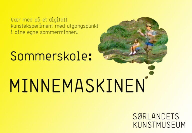 Sommerskole 2020: MINNEMASKINEN